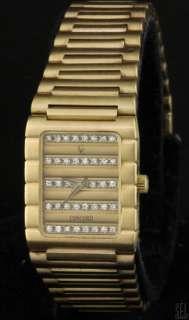 CONCORD HEAVY 18K GOLD FANCY HIGH FASHION .60CT VS DIAMOND DIAL LADIES
