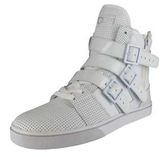 RADII Straight Jacket Mens High Top Buckle Zip Lace Up Fashion Sneaker