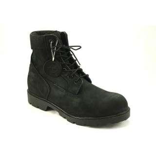 Timberland FL 6 Inch Basic Black Nubuck Boots for Men |