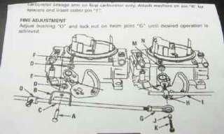 Blower supercharger dual carburetor inline carb linkage