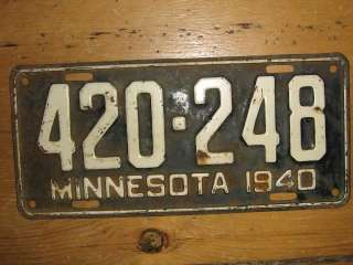 license plate used rat rod street rod chevy ford custom buick