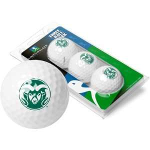 Colorado State Rams CSU NCAA Golf Ball Pack Sports
