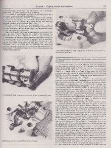 Haynes 1977 88 Honda CM 125 twins workshop manual #571