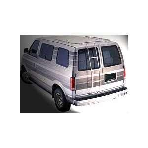 Van Aluminum Ladder  Dodge, Ford, Chevy, GMC Automotive