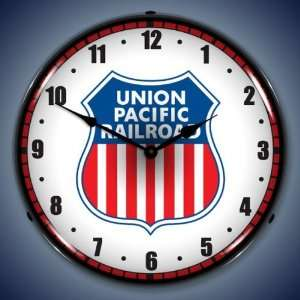 Union Pacific Railroad 14 Inch Fluorescent Clock