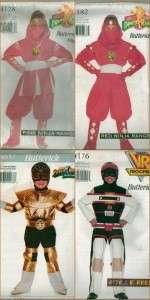 Ranger Halloween Costume Sewing Pattern Size 4 5 6 7 8 10 12 14