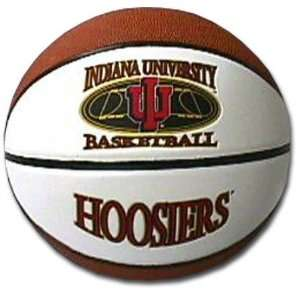 Hoosiers Full Size Commemorative Foto Basketball Sports & Outdoors