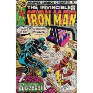 Iron Man (1st Series) #86: Bill Mantlo, George Tuska: Books