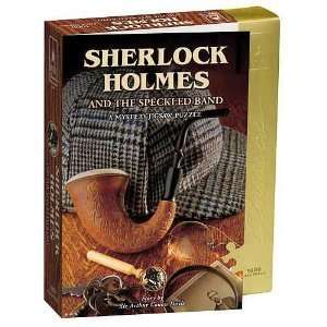 University Games Sherlock Holmes Mystery Jigsaw Puzzle Toys & Games