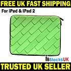 iPAD iPAD 2 Angry Birds Soft Case Sleeve Bag Handbag Green