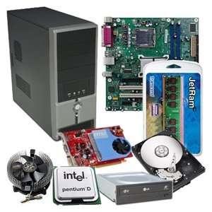 Intel Desktop Complete Barebone Kit: Computers & Accessories
