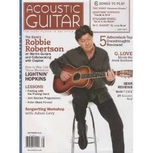 Magazine September 2011 Editors of Acoustic Guitar Magazine Books