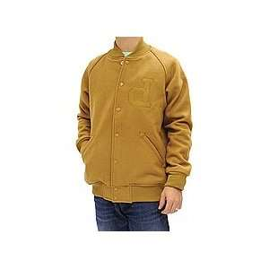 Diamond Supply Co. Un Polo Varsity Jacket (Camel) Medium