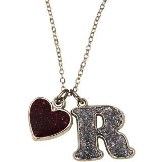 Silver Tone Initial R Pendant Personalized Gifts