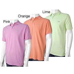 Le Tigre Mens Classic Pique Knit Polo Shirt