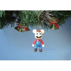 BEAR *10 CHRISTMAS ORNAMENT SUPER MARIO HOME DECORATION
