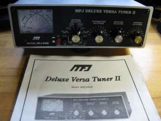 MFJ 949E DELUXE VERSA TUNER II WITH MANUAL / EXCELLENT