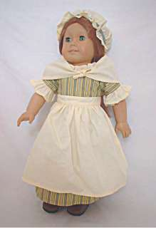 Clothes American Girl Colonial Felicity Work Gown Dress