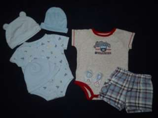 months Baby Boy Infants Spring Summer nice outfits clothes Lot