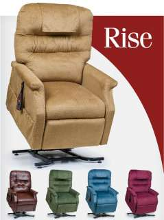 Monarch 3 Position Electric Recliner Power Lift Chair PR 355L NEW
