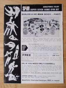 MR UNIVERSE bodybuilding SIGNED contest program/ARNOLD SCHWARZENEGGER