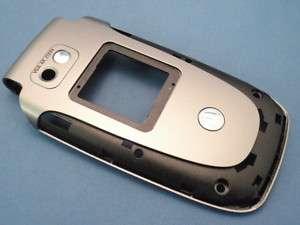 Motorola V360 PARTS Outer Flip Front Housing Cover SLVR