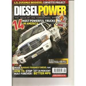 Diesel Power Magazine (14 Most powerful Trucks in America