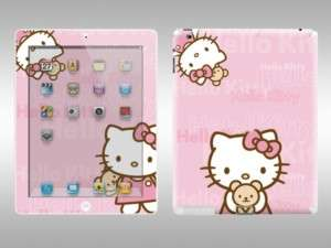 Hello Kitty Sticker Case for Apple iPad 2 Pink P206