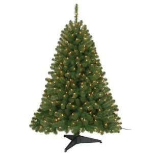 Home 4.5ft. Shenandoah Pine Christmas Tree with 200 Clear Lights
