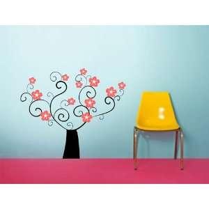 Decoration wall sticker wall mural decor Flower tree