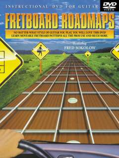 Fretboard Roadmaps Instruction DVD/Book Guitar Sokolow