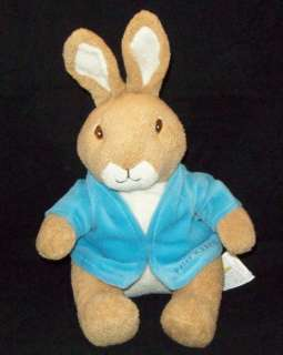 KIDS PREFERRED Beatrix Potter PETER RABBIT Plush TOY 12 Blue JACKET