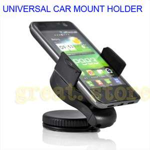 360° CAR MOUNT HOLDER STAND for Samsung Galaxy W Wave 3 i8150 S5690