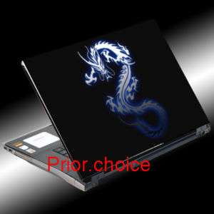 BLUE DRAGON NOTEBOOK LAPTOP COVER SKIN STICKER DECAL