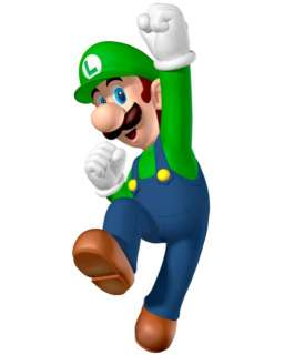 Super Mario Luigi Brothers Bros Iron On Transfer #3