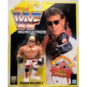 WWF Hasbro Shawn Michaels Ser7 Yellow Card C7/8 Toys & Games