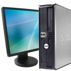 Dell 330 Desktop Dual Core 1 8Ghz 2GB RAM Windows 7 19 LCD