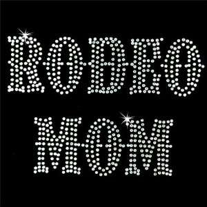on Hot Fix Rhinestone Motif Design Rodeo Mom 2 Arts, Crafts & Sewing