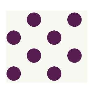 Just Kids KD1864 Large Polka Dot Wallpaper, Purple