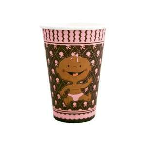 Modern Baby Girl African American Cups (8 count) Health
