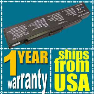 NEW Laptop Battery For Sony VAIO VGN N130G/W 5200mAh