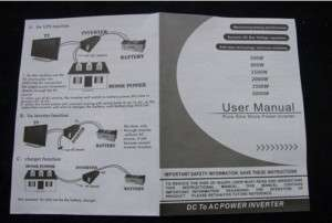 Power Jack Inverter User Manual
