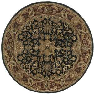 St. Croix PT36R Traditions Regal Black Oriental Round Rug