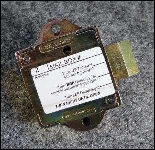 Salsbury Replacement Combination Lock Mailbox 3700 3600 series