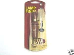 Ducks Unlimited Walnut Duck Call Lamp Finals 64456