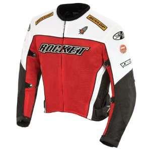 Joe Rocket Mens UFO Mesh Motorcycle Jacket: Sports & Outdoors