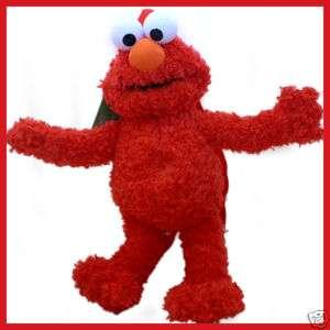 Sesame Street Elmo Figure Plush Backpack Bag Brand NEW