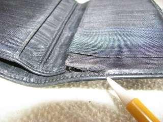 DOONEY & BOURKE KissLock WALLET COIN PURSE Handbag All Weather Leather
