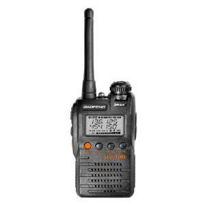 II UHF/VHF & Two Freq. display, Watch dual band radio Electronics