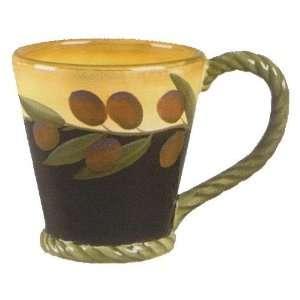 Clay Art Oliva Classico Mugs   Set Of 4 Kitchen & Dining